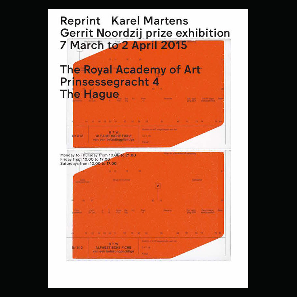Karel Martens - Another Graphic | Archive of graphic design focused on typographic treatment | graphic design inspiration