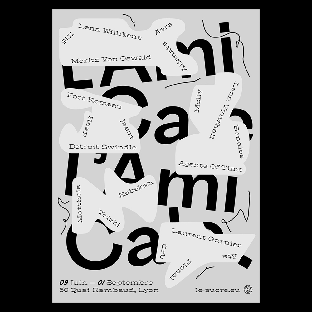 Bureau Bertrand Clement - Another Graphic | Archive of graphic design focused on typographic treatment | graphic design inspiration