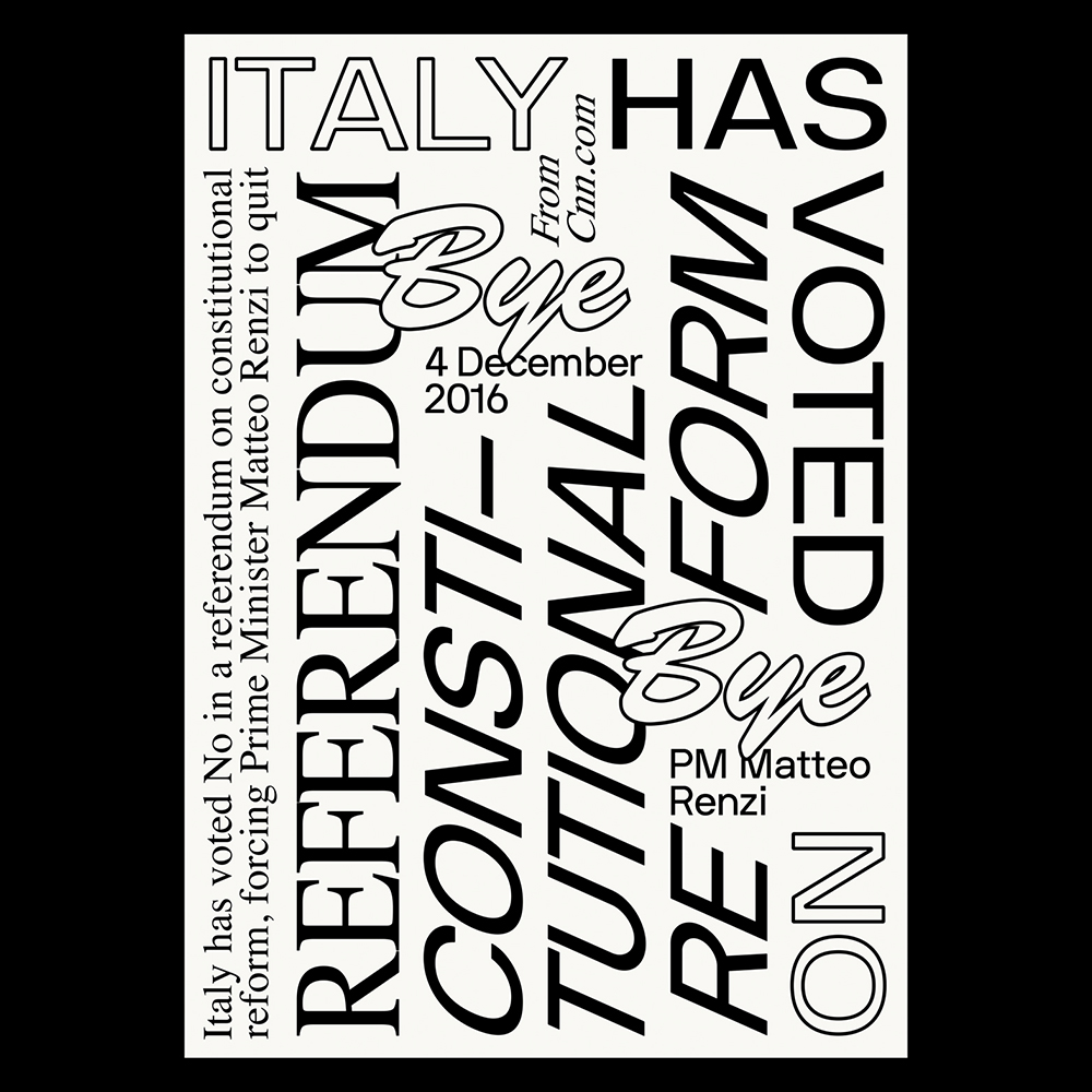 Giovanni Murolo - Another Graphic | Archive of graphic design focused on typographic treatment | graphic design inspiration