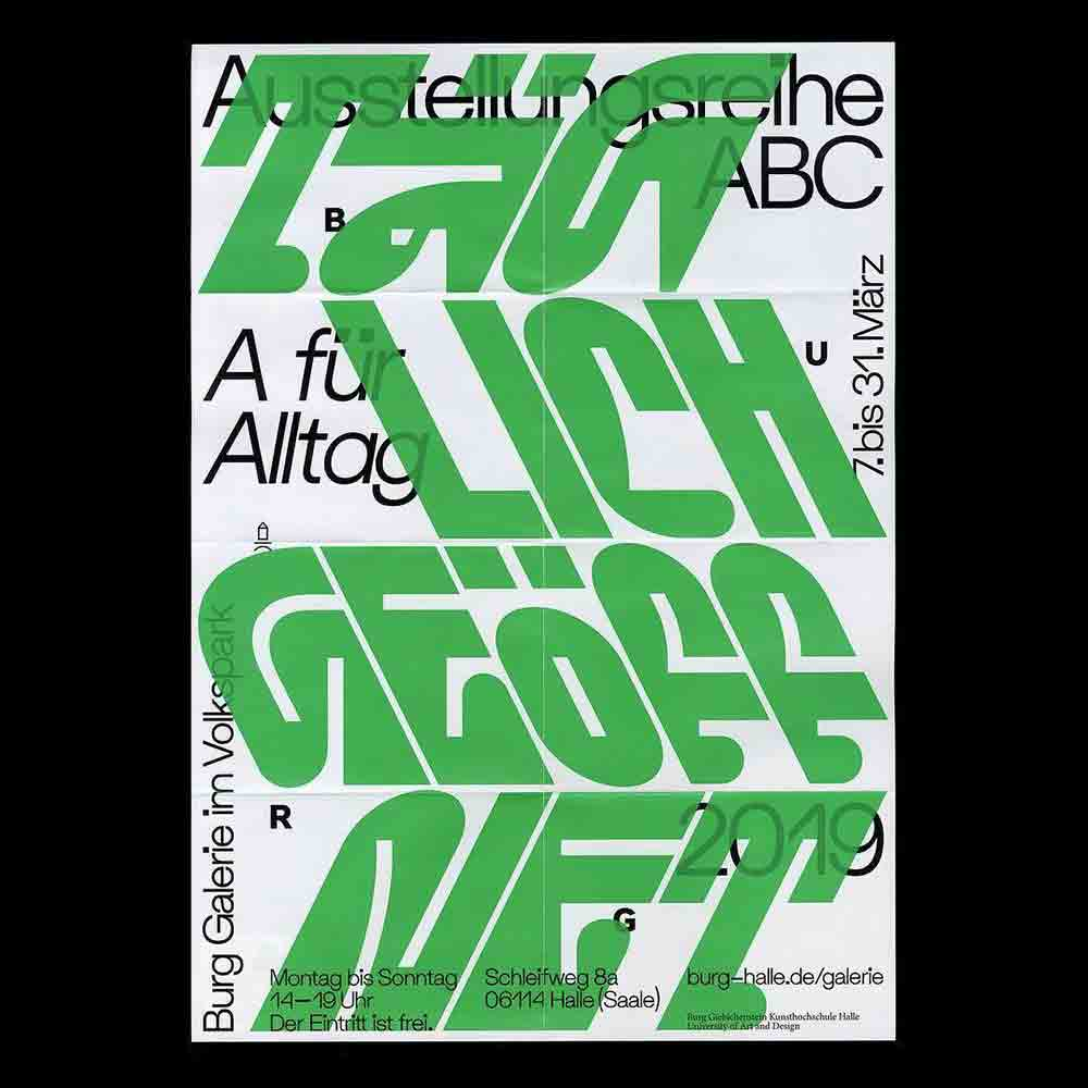Marcus Wachter - Another Graphic | Archive of graphic design focused on typographic treatment | graphic design inspiration