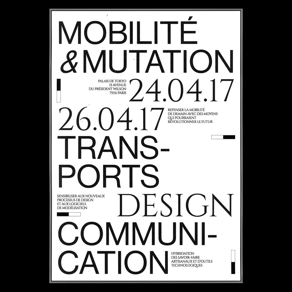 Margot Lévêque - Another Graphic | Archive of graphic design focused on typographic treatment | graphic design inspiration