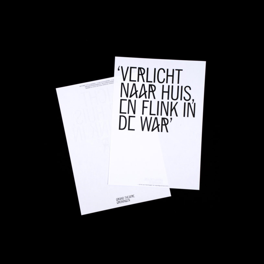 Rudmer van Hulzen - Another Graphic | Archive of graphic design focused on typographic treatment | graphic design inspiration