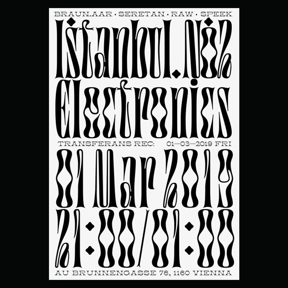 Studio Fatih Yapar - Another Graphic | Archive of graphic design focused on typographic treatment | graphic design inspiration