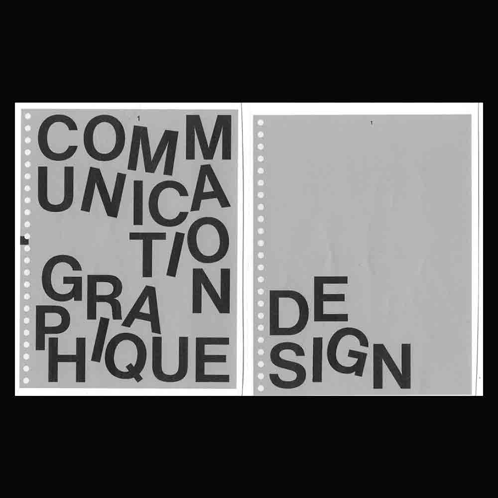 Victor & Arthur Brun - Another Graphic | Archive of graphic design focused on typographic treatment | graphic design inspiration