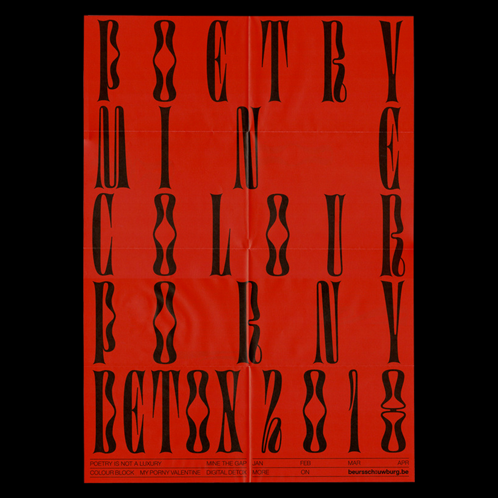 Atelier Brenda - Another Graphic | Archive of graphic design focused on typographic treatment | graphic design inspiration
