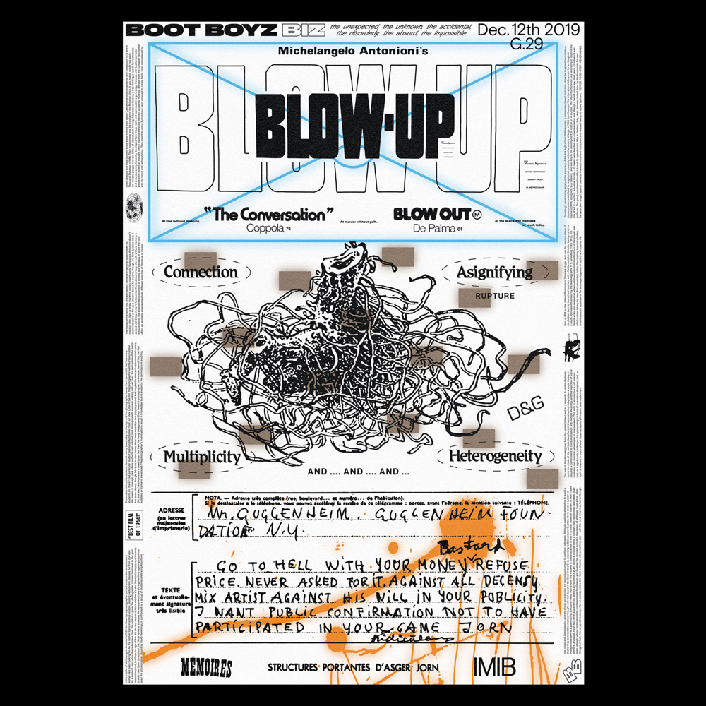 Boot Boyz Biz - Another Graphic | Archive of graphic design focused on typographic treatment | graphic design inspiration
