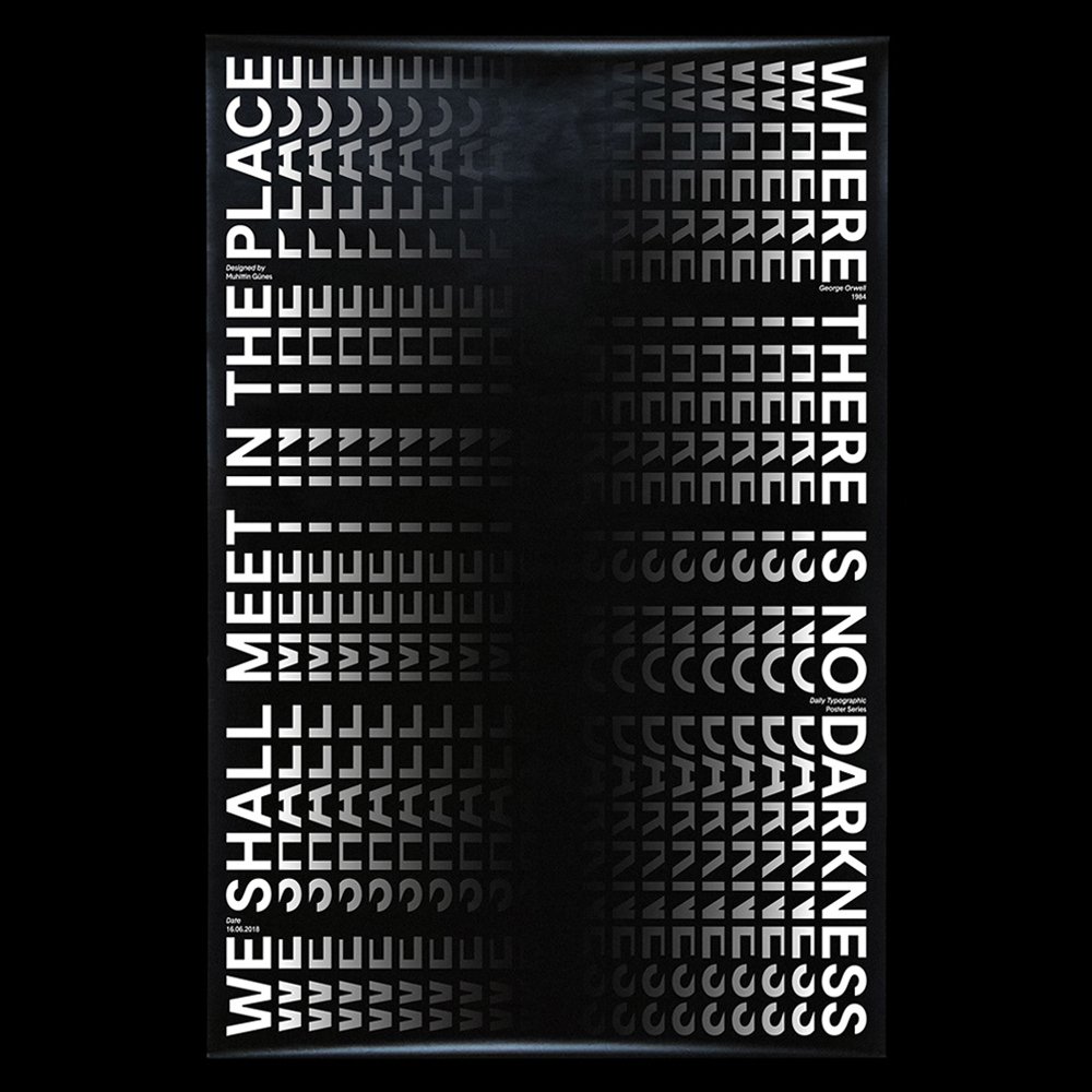 Muhittin Günes - Another Graphic | Archive of graphic design focused on typographic treatment | graphic design inspiration