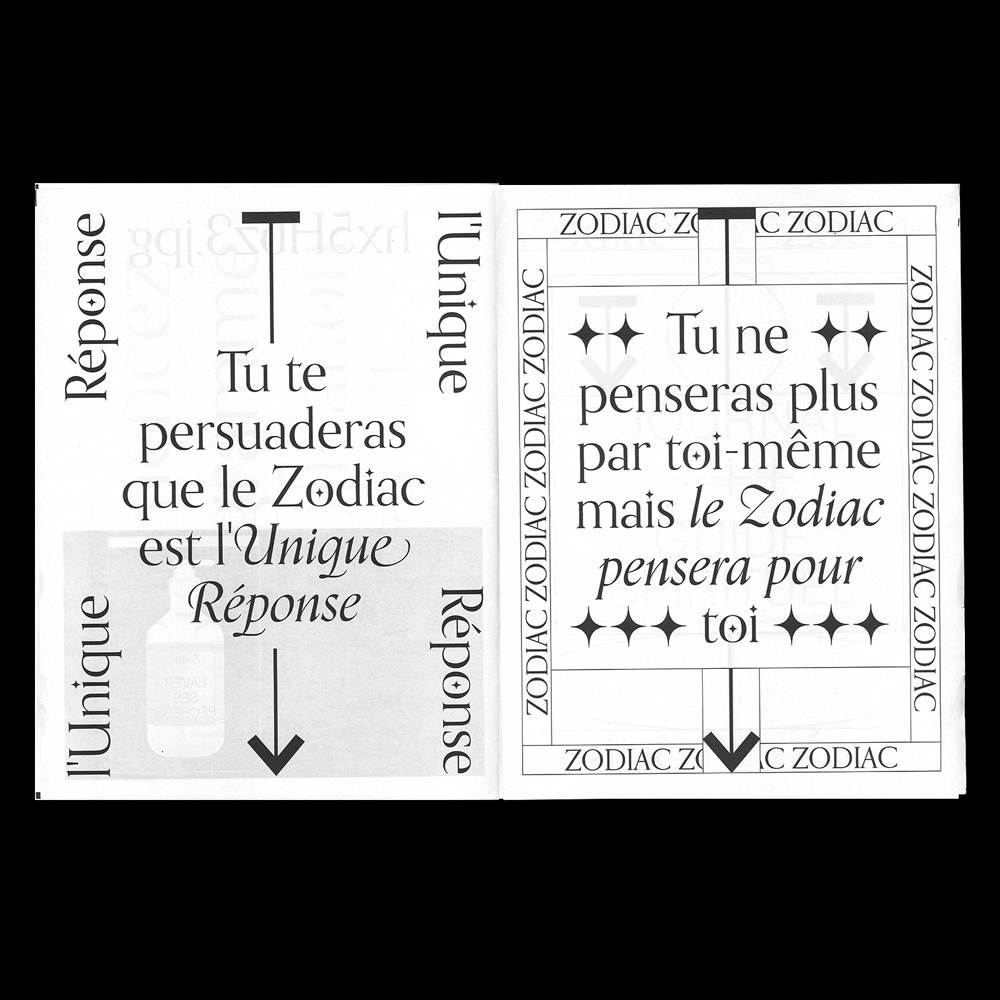 Daphne Mamon - Another Graphic | Archive of graphic design focused on typographic treatment | graphic design inspiration