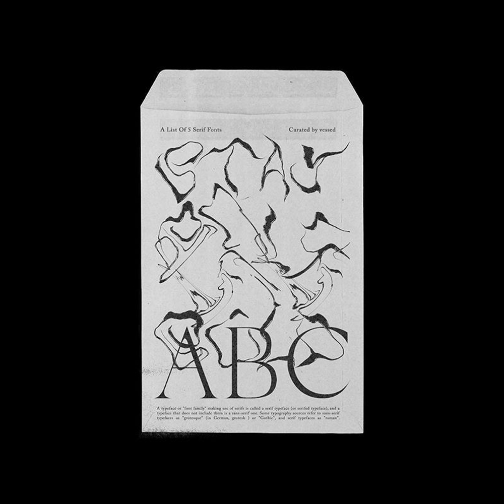 graphic design envelop inspiration
