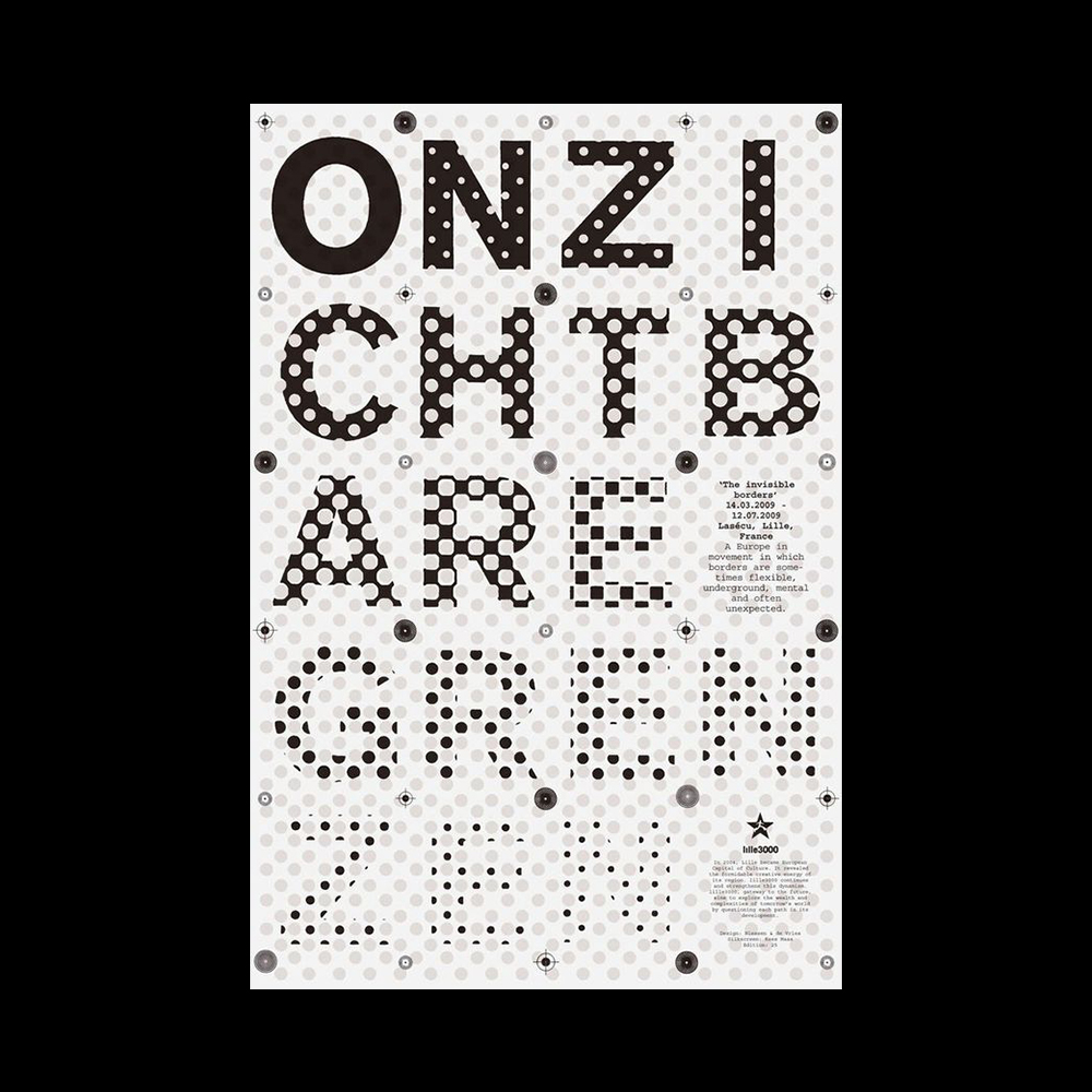 Niessen & De Vries - Another Graphic | Archive of graphic design focused on typographic treatment | graphic design inspiration