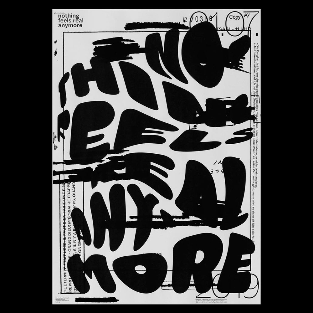 Gilbert Space Schneider - Another Graphic | Archive of graphic design focused on typographic treatment | graphic design inspiration