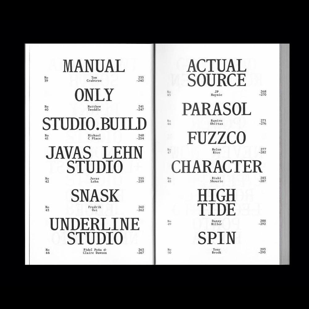 Studio Ground Floor - Another Graphic | Archive of graphic design focused on typographic treatment | graphic design inspiration