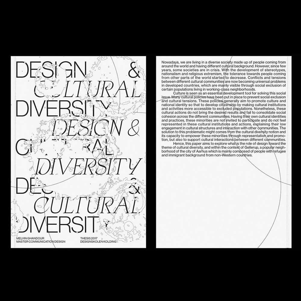 Melvin Ghandour - Another Graphic | Archive of graphic design focused on typographic treatment | graphic design inspiration