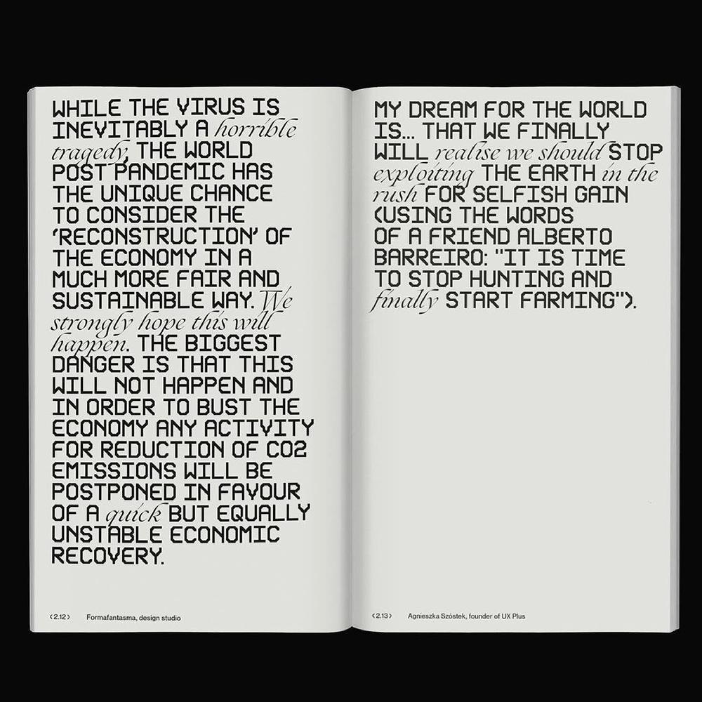 Punkt Widzenia - Another Graphic | Archive of graphic design focused on typographic treatment | graphic design inspiration