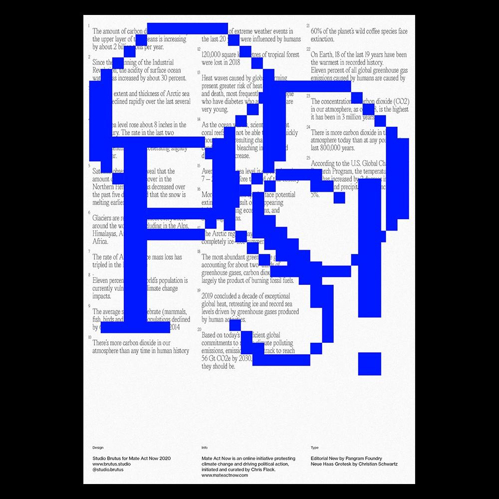 Studio Brutus - Another Graphic | Archive of graphic design focused on typographic treatment | graphic design inspiration