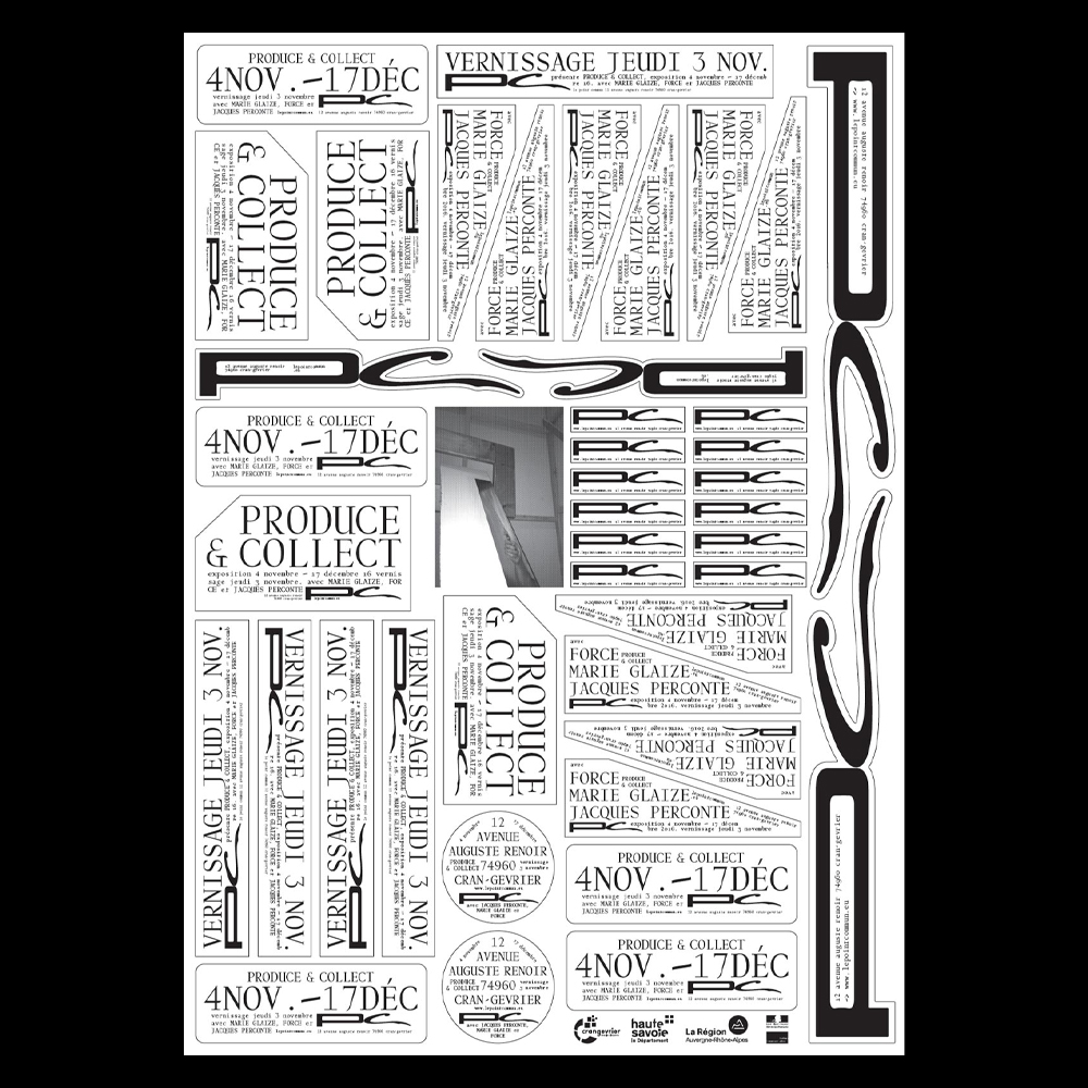 Julie Héneault - Another Graphic | Archive of graphic design focused on typographic treatment | graphic design inspiration